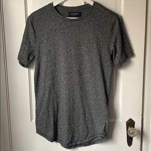 PACSUN Men's Scallop Fit Marled Short-sleeve Tee
